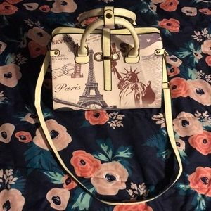 Paris New York purse